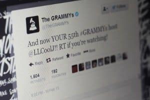 Grammys Twitter