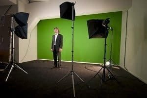 Green Screen Virtual Event Production