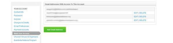 Multi-user access