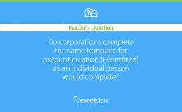 Question Eventbrite Business Sign Up
