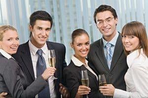 Successful corporate event
